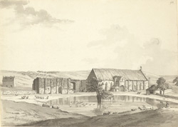 Abbotsbury, Old Barn f.93